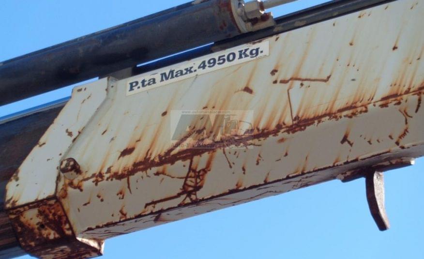 MAN 18.232 4X2 C/ REDUÇÃO CABINE DUPLA COM GRUA