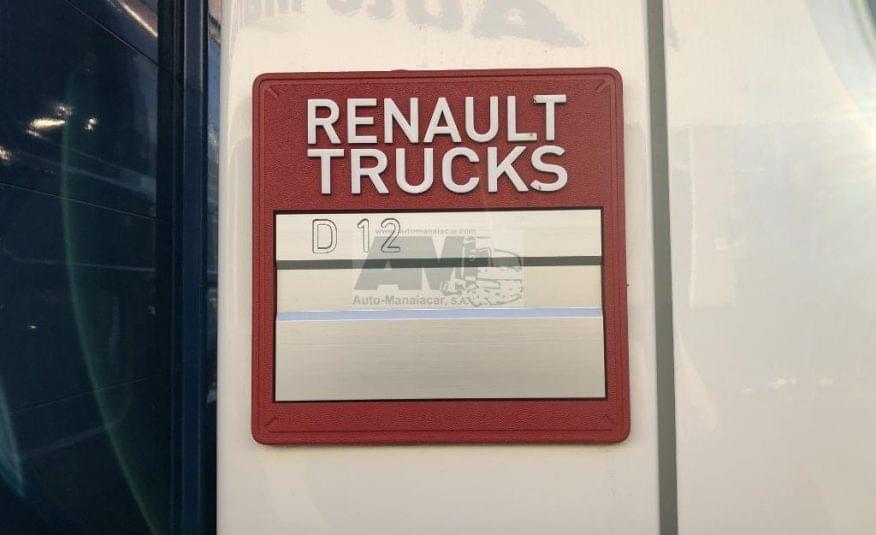 RENAULT D12 210DXi EURO6 4X2 CORTINAS 12 TON 278.776 KMS 2014