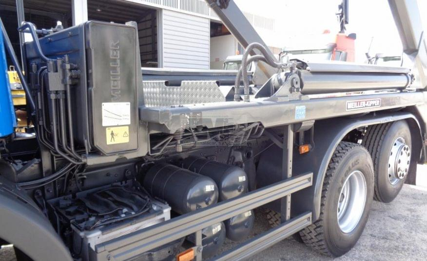SCANIA P380 6X2 PORTA CONTENTORES MULTIBENNE 10/2008
