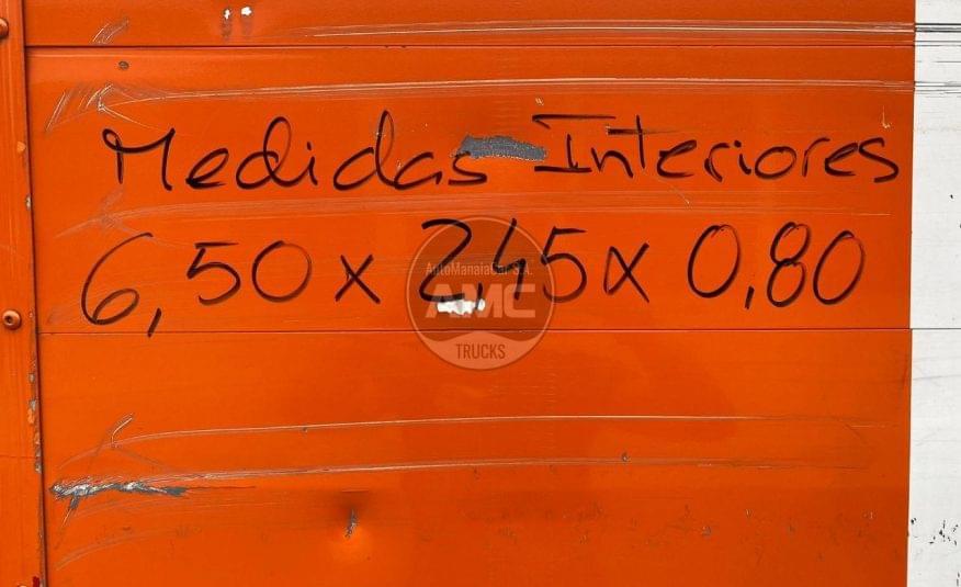 VOLVO FM11 330 EURO5 6X2 CX ABERTA C/GRUA HIAB 200C 08/2010