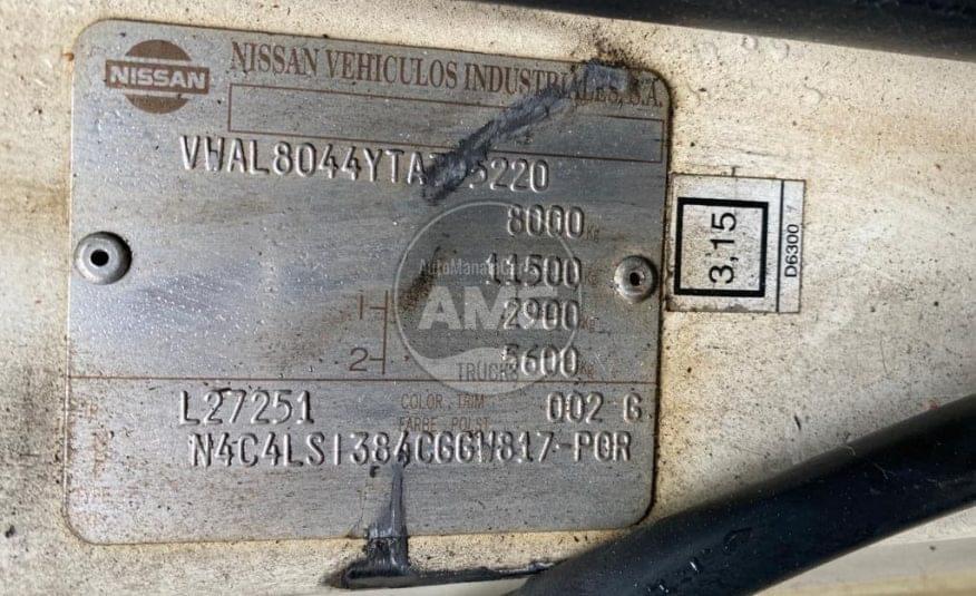 NISSAN ECO T 135 TURBO INTERCOLER 4X2 CAIXA ABERTA 347.000 KMS