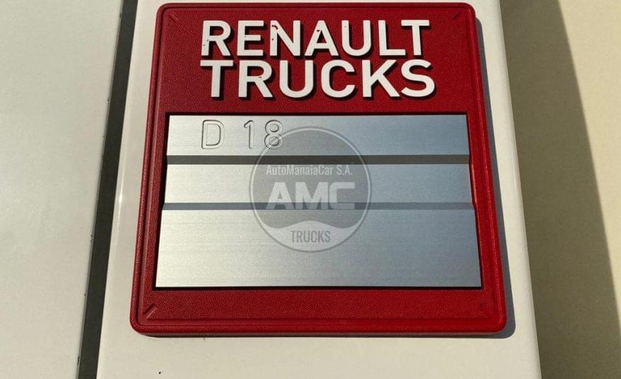 RENAULT D18 280 DXI EURO6 4X2 2015, 280 CV (NOVO MODELO)