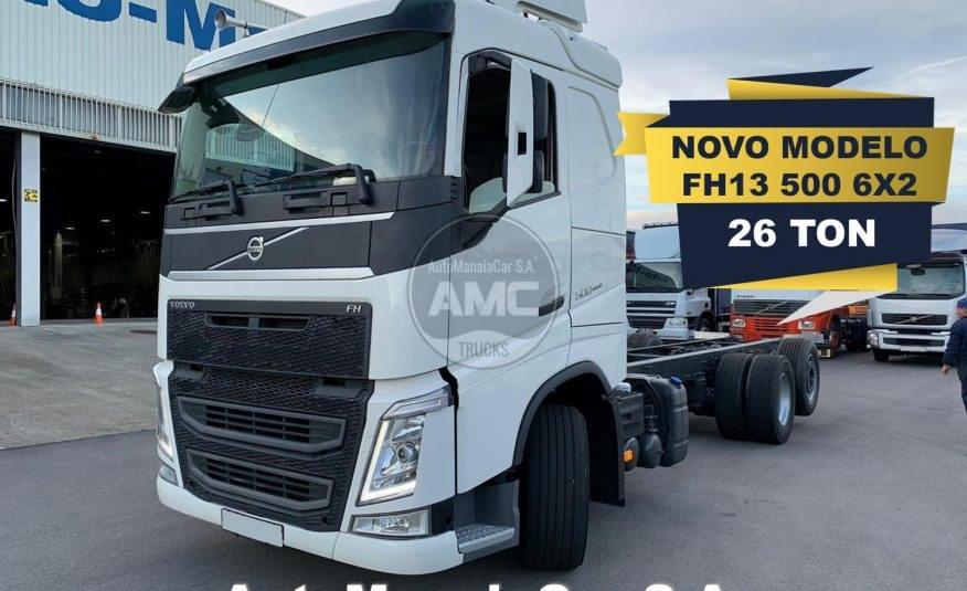 VOLVO FH13 500 6X2 EURO6 CHASSI 08/2014