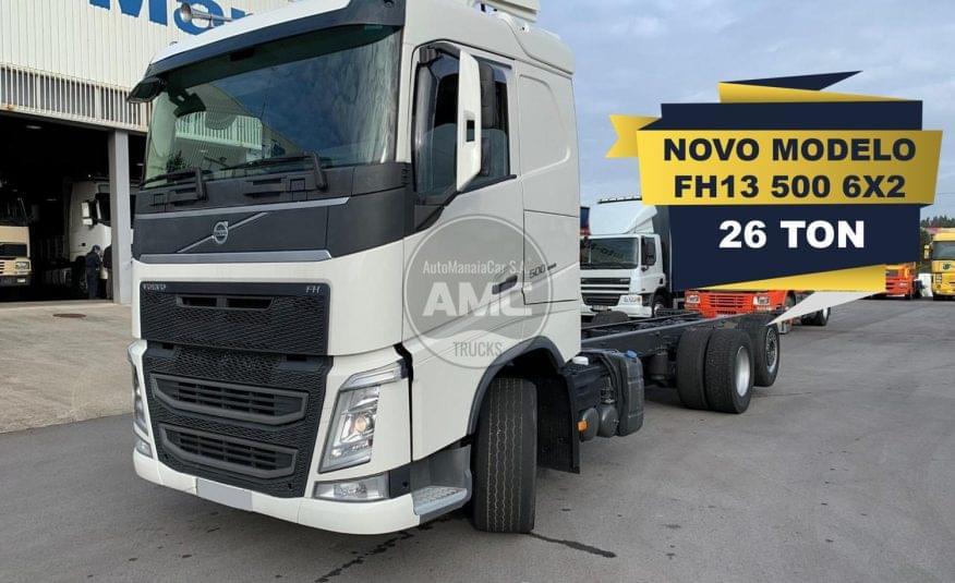 VOLVO FH13 500 6X2 EURO6 CHASSI 11/2014