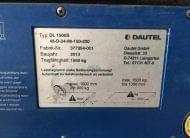 2x PLATAFORMA TRASEIRA DE ENCOSTO DAUTEL 2013/2014 1500 KGS