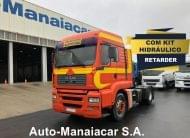 TRATOR MAN TGA 18.410 4X2 KIT HIDRÁULICO + RETARDER