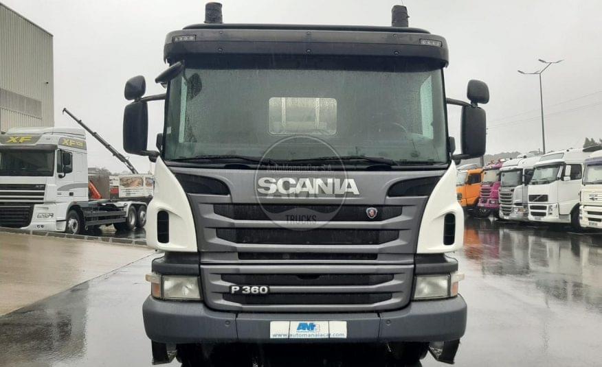 SCANIA P360 8X4 BETONEIRA 2012 194.000 KMS