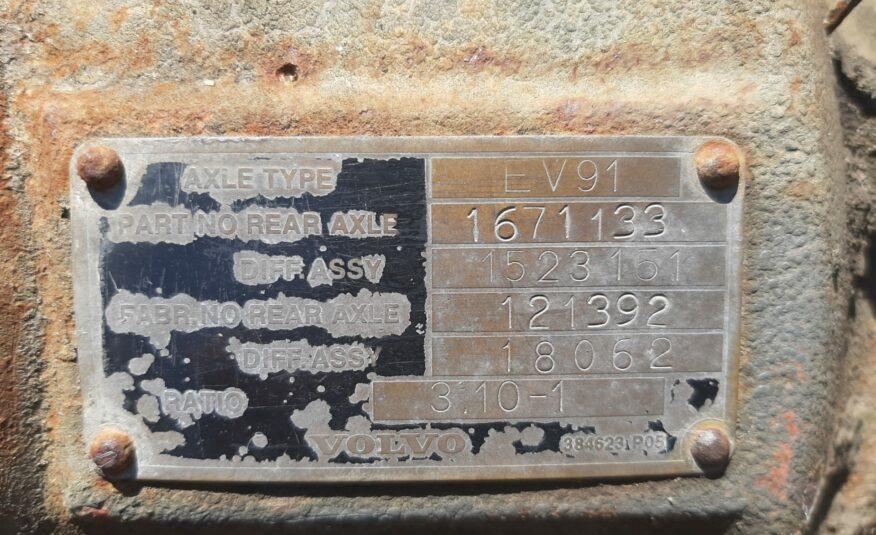 EIXO COMPLETO VOLVO FH12 DIFERENCIAL EV91 1671133 RATIO 3.10-1