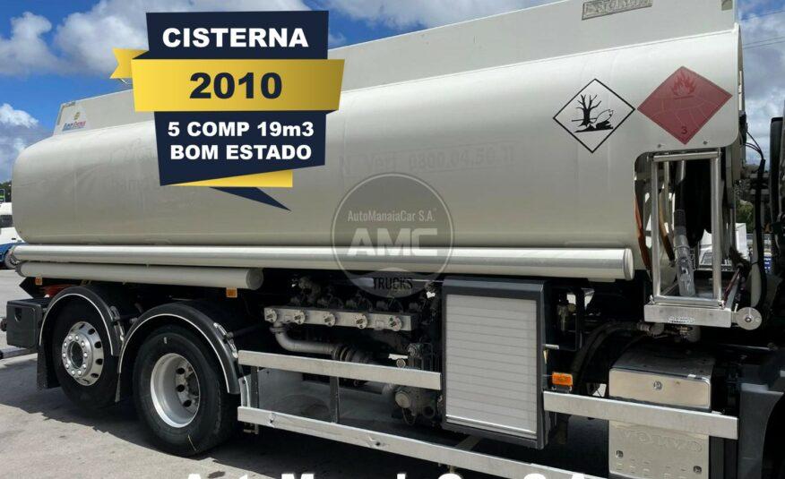 CISTERNA DIESEL DE ALUMÍNIO DE 19m3 VOLVO